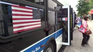 mta new york city bus new flyer xd40 q31 169th st hillside av hillside av homelawn st