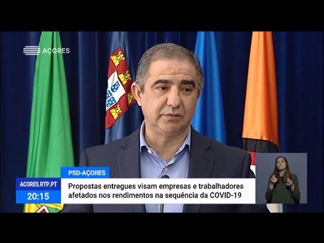 COVID-19. Bolieiro propõe medidas de apoio a trabalhadores e empresas