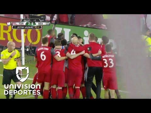 ¡GOL! Víctor Vázquez | MLS Cup: Toronto FC 2-0 Seattle Sounders