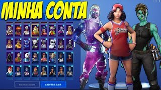 One of the best bills in BRAZIL from FORTNITE? My account 2.0 and RARE Skins!