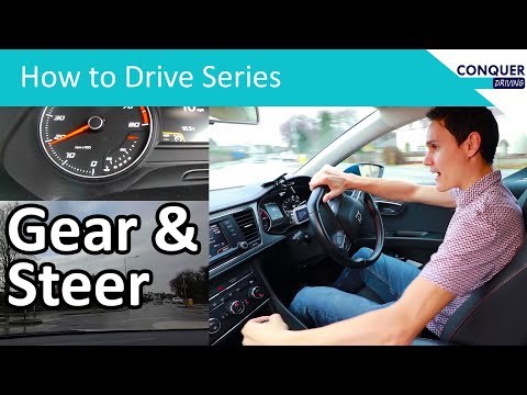 Changing Gears when Turning in a Manual Car