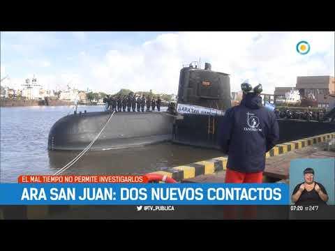 ARA San Juan: Dos nuevos contactos | #TPANoticias