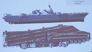 護衛艦いずもの空母改造案 米企業が発表
