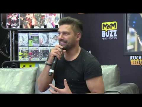Manu Bennett on Deathstroke in Arrow season 6