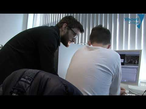 'A Day In The Life' Yeovil College Campus Apprenticeship 'Creative Industries'