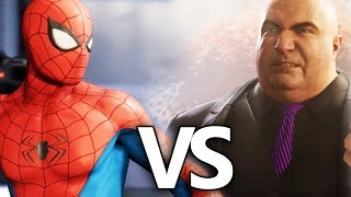 SPIDER-MAN VS KINGPIN Battle | Marvel's Spider-Man (2018)