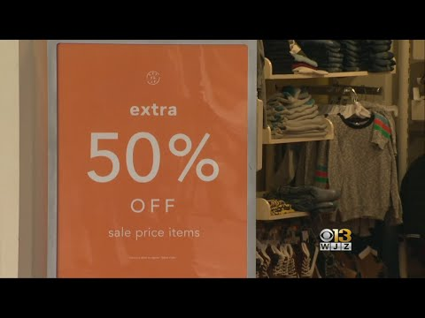 Maryland Malls Crowded With Shoppers For Post-Christmas Returns, Purchases