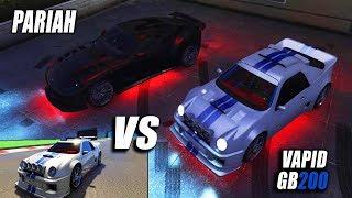 TEST DE VELOCIDAD: VAPID GB200 VS PARIAH   GTA V Online