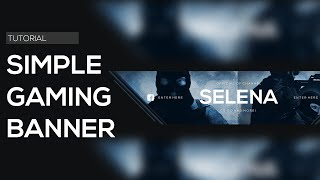 Tutorial: Simple Gaming Banner (Photoshop CS6)