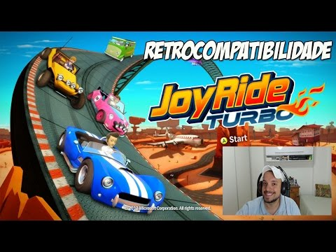 XBOX ONE - JOY RIDE TURBO GAMEPLAY (RETROCOMPATIBILIDADE)