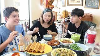 Vlog 183 ll  Buổi tối vui vẻ của gia đình Việt Mỹ