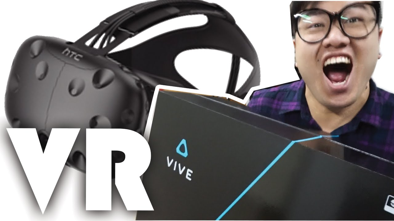 開箱!VR頭盔<HTC Vive> - YouTube