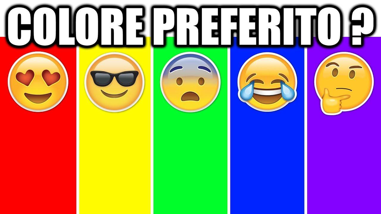 il tuo colore preferito ti dira 39 chi sei veramente youtube