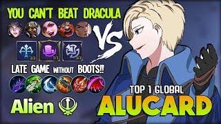 Jump u0026 Die? Joking with Me? Alucard vs ALL!! Alien ☬ Top 1 Global Alucard ~ Mobile Legends