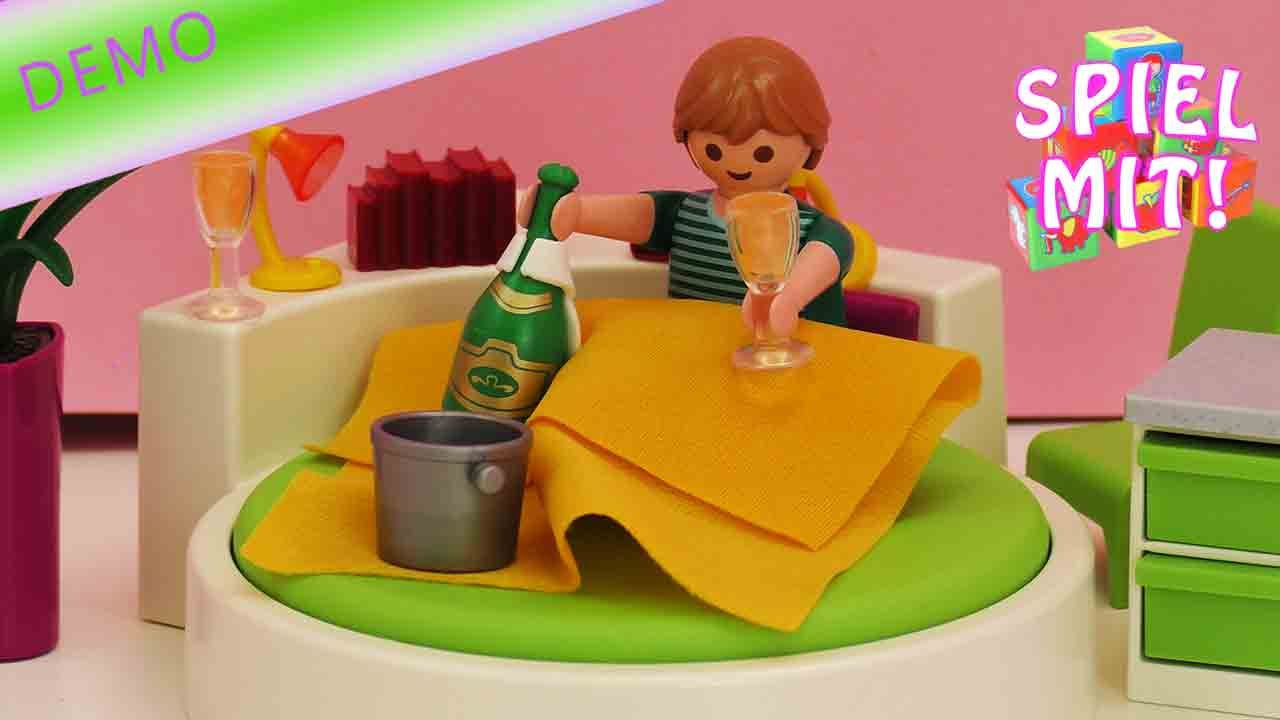 Playmobil Schlafzimmer - Schlafinsel für die Playmobil Villa unboxing und  Aufbau 5583