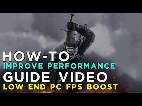 The Witcher 3: Wild Hunt Maximum Performance Optimization / Low