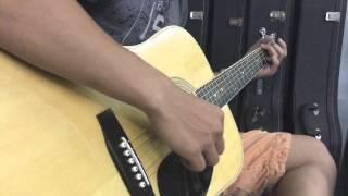 [Niệm khúc cuối] fingerstyle học viên 3 tháng tại V.Guitar