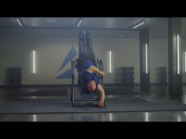 Inversion Table Stretches for Intermediate Users