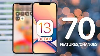 iOS 13 Beta 6! 70 New Features & Changes Video