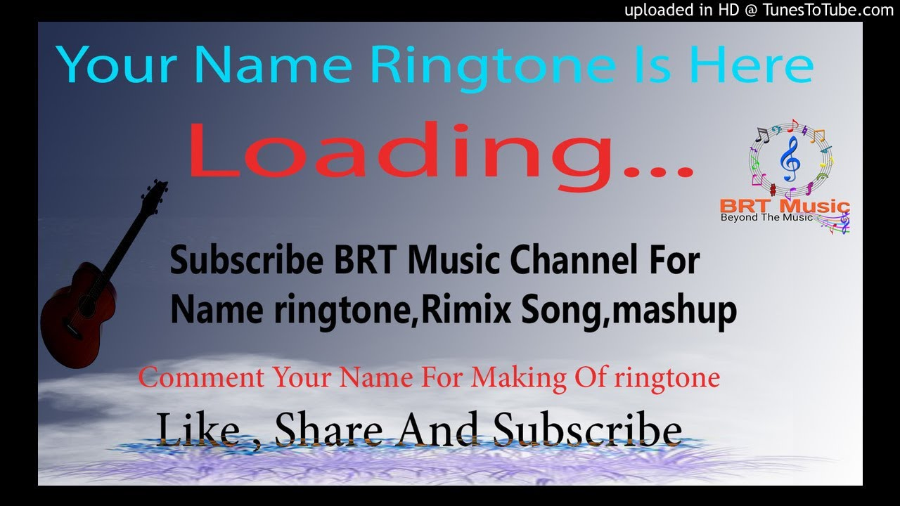 a to z name ringtone please pickup the phone