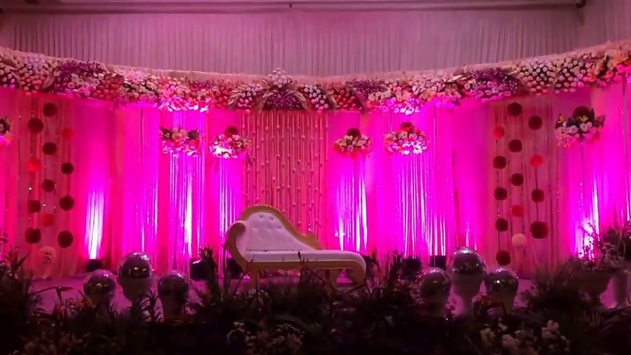 Grand Theme Wedding by Gold Pink - YouTube