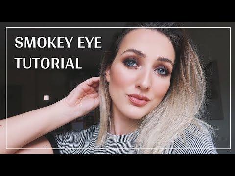 My Go-To Smokey Eye Make Up Tutorial | Julianna Green thumbnail