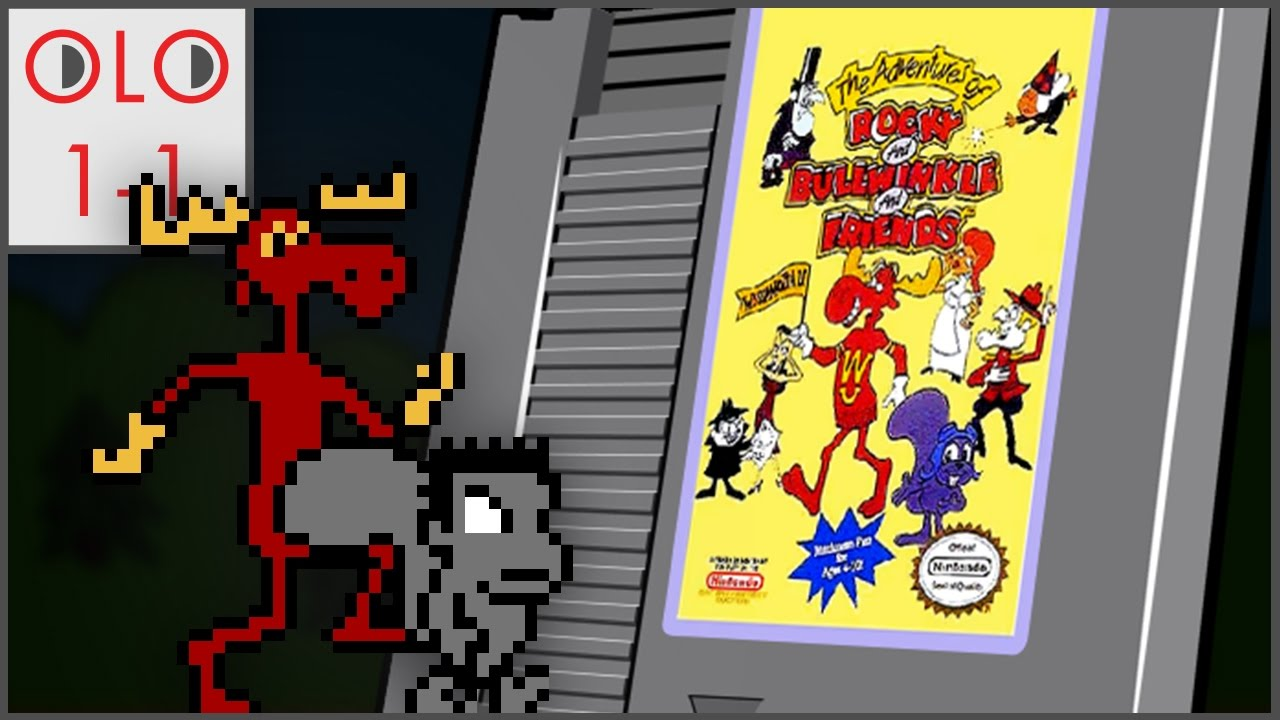 Rocky and Bullwinkle - NES - Only Level One