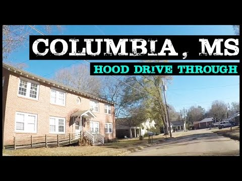 COLUMBIA MISSISSIPPI NEIGHBORHOODS & PROJECTS