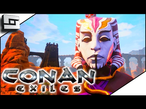 CONAN EXILES GAMEPLAY - Unamed CIty and Set Armor! #8