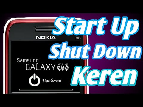 Symbian Os Nokia E63 | Cara Mengubah Start Up Dan Shut Down Hp Nokia E63 Symbian