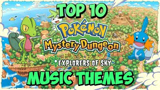 "Top 10 ""Pokemon Mystery Dungeon: Explorers of Sky"" Music Themes"