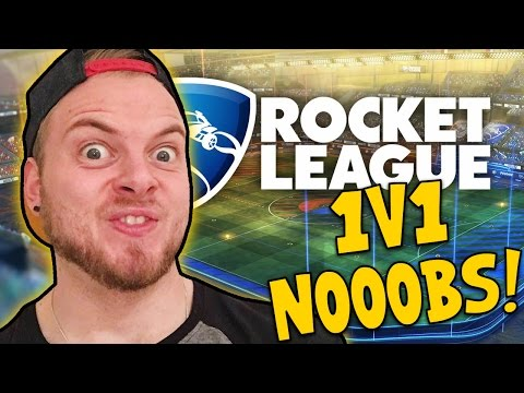 SquiddyPlays - ROCKET LEAGUE - 1v1in' Noobs!