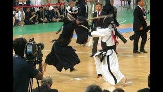 17th World Kendo Championships Round3 Jo Jin Yong vs. NISHIMURA(西村)