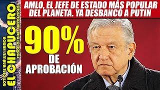 AMLO alcanza 90% de popularidad después de explosión en Hidalgo. Fifís no lo pueden creer