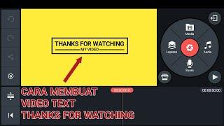 Download Cara Membuat Video Thanks For Watching || KineMaster Tutorial