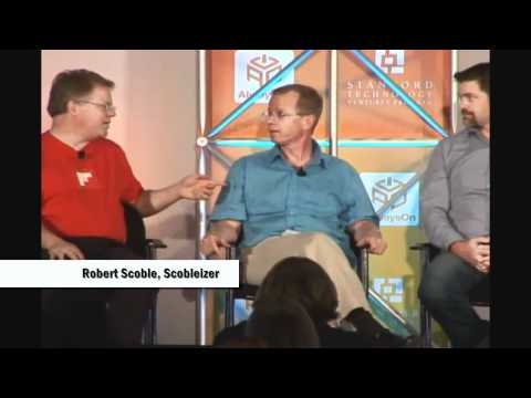 Michael Arrington, Robert Scoble and Quentin Hardy at AlwaysOn Summit at Stanford 2010