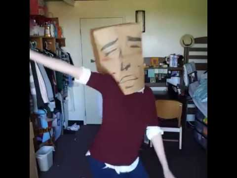 Paper Bag Over head dance meme