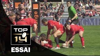 TOP 14 ‐ Essai 2 Napolioni NALAGA (LOU) – Toulouse-Lyon – J21 – Saison 2016/2017