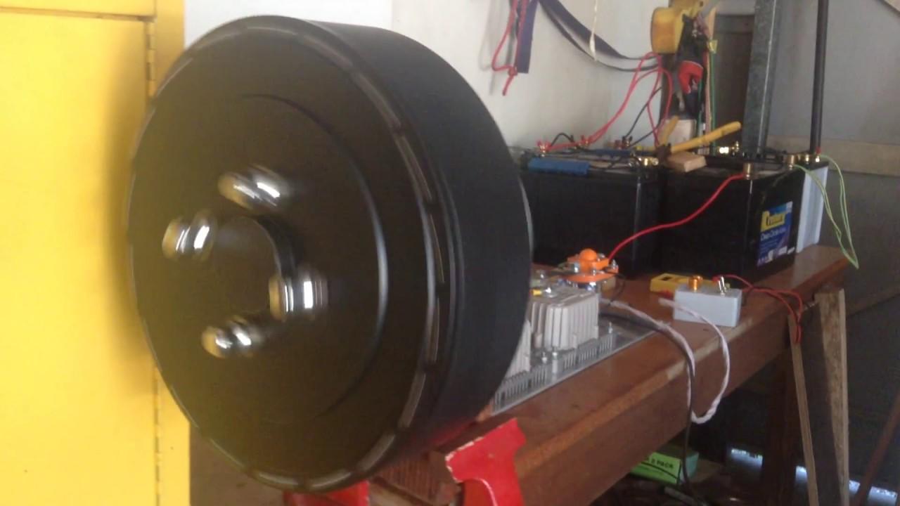 Asynchronous motor denzel DA-90 Controller Kelly KAC7230H with