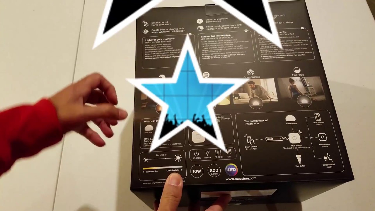 Unboxing & Review of Philips Hue Wellner LED Table Lamp ...