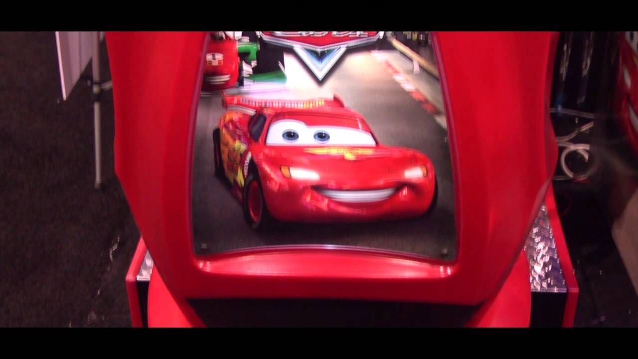 All Fast And Furious Cars >> Disney Pixar's Cars - Raw Thrills - Amusement Expo 2013 ...