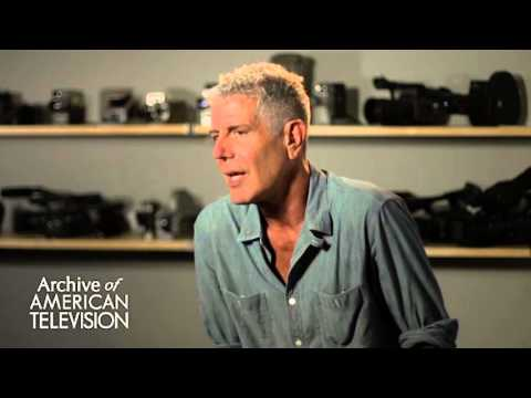 Anthony Bourdain on advice to aspiring writers and producers - EMMYTVLEGENDS.ORG