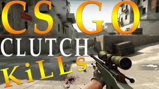 CS GO CLUTCH MOMENTS....LOW RESOLUTION TEST..