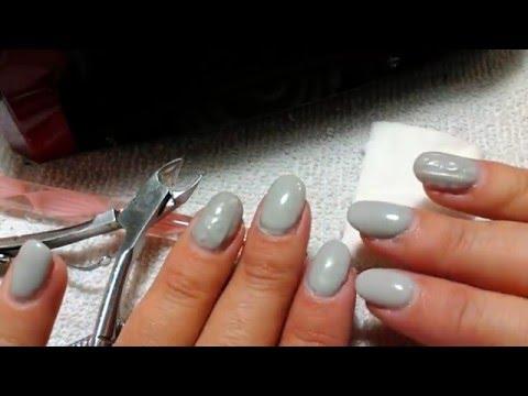 Material básico para hacer uñas de gel (manicura semipermanente)