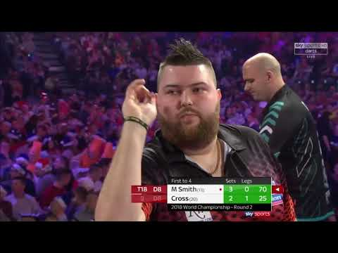Cross vs M.Smith. World Darts Championship.