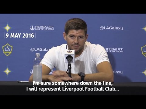Steven Gerrard To Return To Liverpool FC As Youth Coach