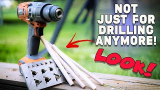 This amazing tool will take your cordless drill to the next level and SAVE YOU MONEY!