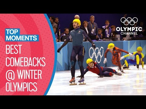 Best Ever Comebacks at the Winter Olympics | Top Moments
