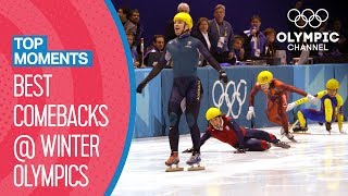 Best Ever Comebacks at the Winter Olympics   Top Moments