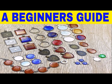 Resin jewelry tutorial for beginners